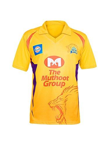UNIQ Girl's IPL CSK T-Shirt (3-4 Years, Chennai Super Kings)