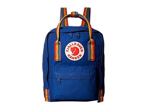 Fjällräven Kånken Rainbow Mini Rucksack, 29 cm, 7 Liter, Deep Blue-Rainbow Pattern -