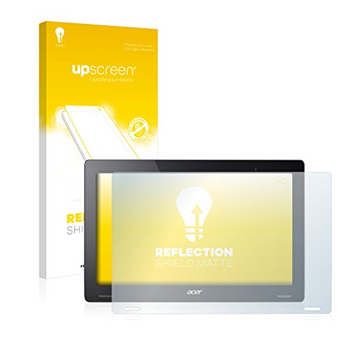 upscreen Matt Schutzfolie kompatibel mit Acer Aspire Switch 12 S - Entspiegelt, Anti-Reflex, Anti-Fingerprint