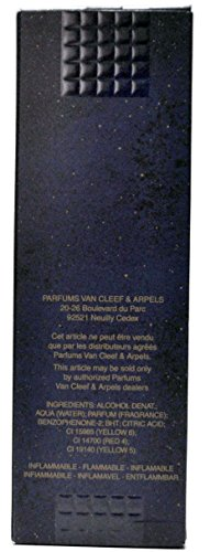 Van Cleef 3 Oz Rechargeable Eau De Toilette Spray For Women