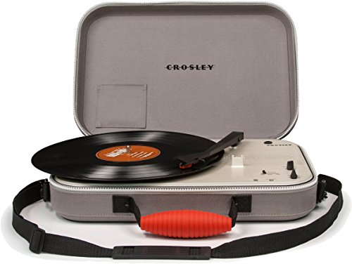 Crosley Messenger Belt-drive audio turntable Grey