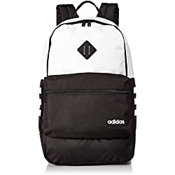 adidas Classic 3S Backpack, Neo White/Black, One Size