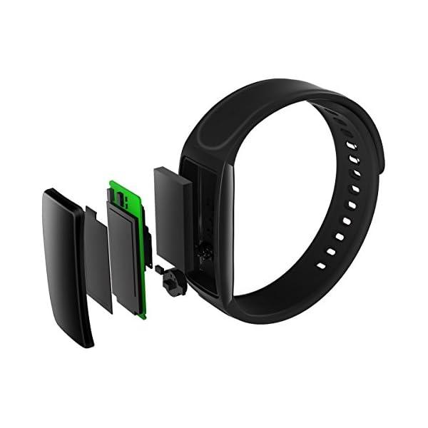 dc88cf677985 CHEREEKI Pulsera Inteligente con Pulsómetro Fitness Tracker Monitor ...