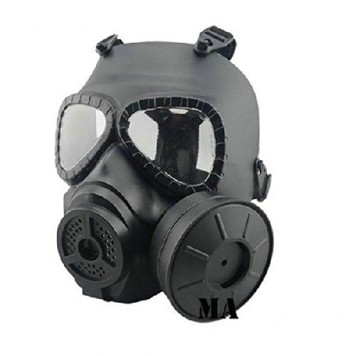 Tactical Airsoft Game Face Seguridad Protección Máscara Guardia Toxic CS Gas Mask