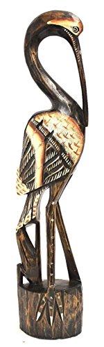 40 cm of birds in wood Toucan parrot parakeet parrot Ara Wood decorative figure Animale