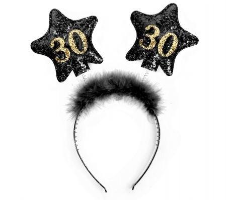 Haarreifen 30. Geburtstag Haarband Party