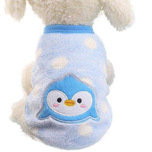 Jersey suave para perros azul