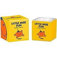 MR Men and Little Miss 6x 5,7x 5,7cm LM Fun Huevera, Amarillo Brillante