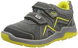 Lurchi Jungen Matthias-TEX Sneaker, Grau (Grey Yellow 25), 29 EU