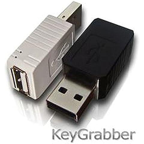 USB KeyGrabber Keylogger Nano 16MB negro