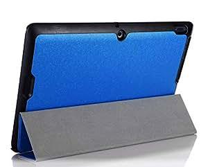 Smart Cover pour Asus Transformer Book T200TA 11.6 Pouce Case Stand Slim Flip T200 TA (Bleu)