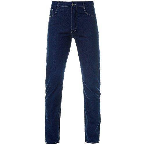 BEZLIT Herren Jeans Hose Stretch Straight Fit 21536, Blau, 7XL Hosengröße 64 -