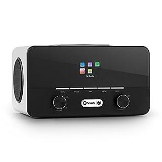 auna Connect 150 WH • 2.1-Internetradio • Digitalradio • WLAN-Radio • LAN • DAB / DAB+ / UKW-Tuner • RDS • Spotify Connect • USB • AUX • weiß