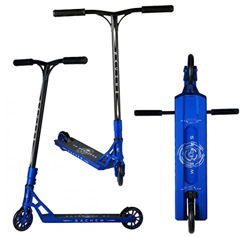 AO Scooters Sachem Complete Stunt-Scooter + Fantic26 Sticker (Blau) (Ao Scooter)