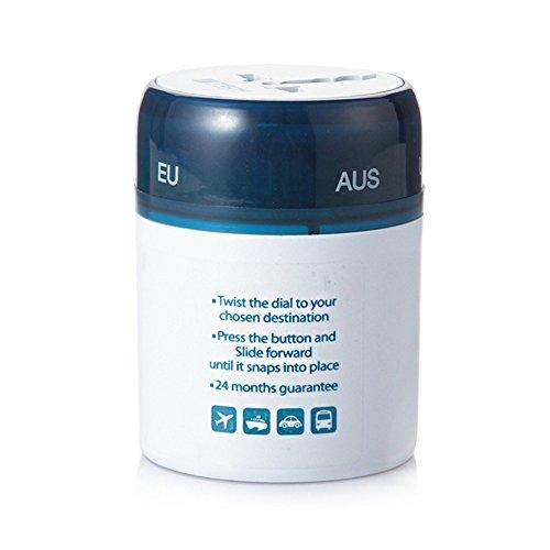 LX7 Universal USB Travel Power Adapter Weltweite Internationale Cube Plug Adapter Für Großbritannien/EU/US/AU Über 150 Ländern Sicherheit Verschmolzen Internationale Ac Power Adapter-kit