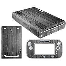 Linyuan Skin Sticker Decal Cover Case 0113# para Nintend WII U Console And Controller