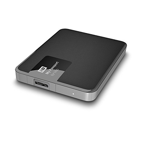 Western Digital 1TB My Passport for Mac tragbare externe Festplatte - USB 3.0 - WDBJBS0010BSL-EESN