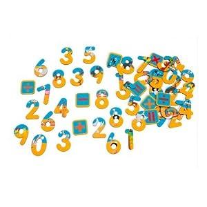 Scratch Números de Safari magnéticos