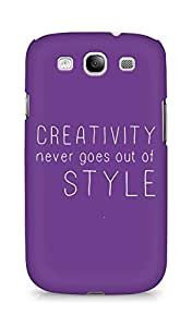 AMEZ creativity never goes out of style Back Cover For Samsung Galaxy S3 Neo