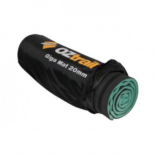 Oztrail - Colchoneta de espuma de 20mm Earth Mat Giga EMF-EM20-A esterilla, colchoneta de camping, para acampar 200x65x2cm 1.1kg, colchón aislante