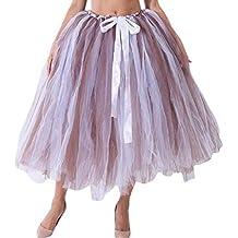 1ba8a4d0c Amazon.es  falda tul disfraz niña - Marrón