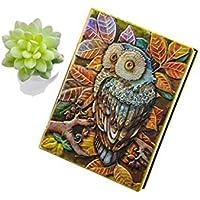 Cuaderno Retro Grabado En Relieve De Alta Calidad De Tapa Dura, Viaje Conmemorativo, Cuaderno De Regalo, 100 Páginas,Natural