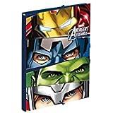 AVENGERS - Carpeta gomas de avengers team (24/2)