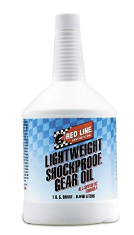 Huile de Boîte Red Line Lightweight Shockproof Gear Oil 75W140 - Bidon de 946 ml