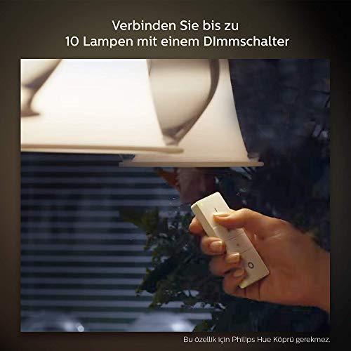 41vRsZWq0VL [Bon Plan Philips HUE] Philips Hue Dimming Kit  White avec 1XE27 9,5W [Interrupteur avec Variateur Inclus] - Fonctionne avec Alexa