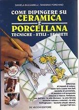 Come dipingere su ceramica e porcellana
