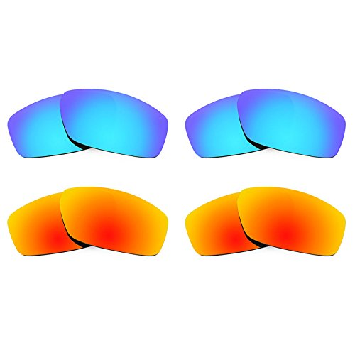Revant Ersatzlinsen für Spy Optic Dirty Mo Polarisiert 4 Paar Kombipack K022