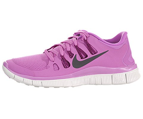 Nike Free 5.0+ Women Laufschuhe red violet-iron ore-bright magenta-summit - 40