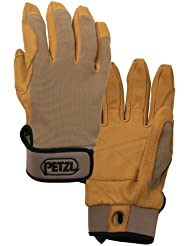Petzl Handschuhe Cordex - Guantes para hombre, color marrón, talla L