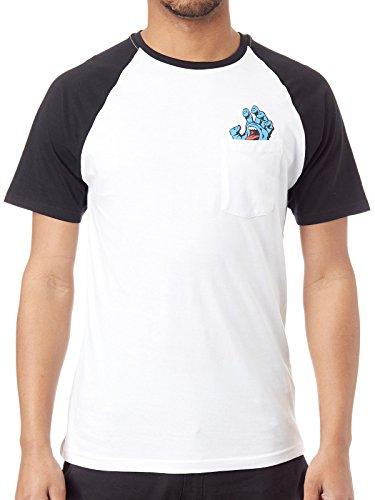 d3c1d4783b6 Santa Cruz T-Shirt - Homme Blanc Blanc