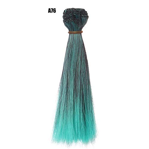 Sommer's Laden 15 cm Teil Puppe Haar Abdeckung DIY Haaransatz Für Kurhn Nacht Lolita Perücke Material Für BJD Hochtemperaturseideneinschlag