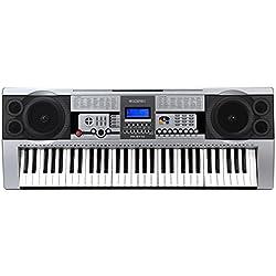 McGrey PK-6110 - Teclado para principiantes con 61 teclas y soporte para notas