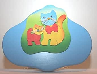 Applique murale en forme de chat