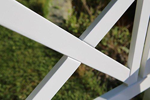 2-er Gartenbank Pisa aus Akazienholz - 5