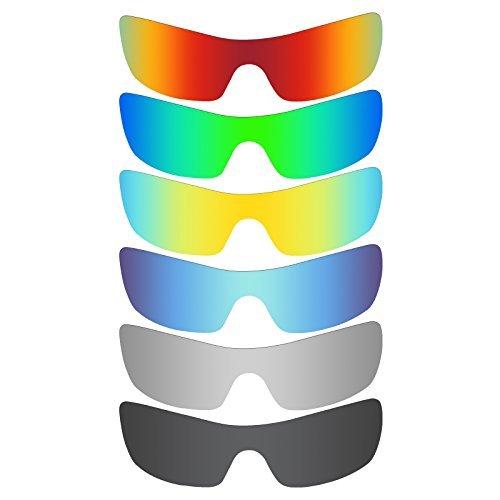 MRY 6Paar Polarisierte Ersatz Gläser für Oakley Batwolf Sonnenbrille
