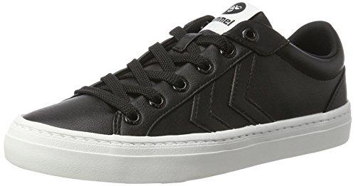 Hummel DEUCE COURT TONAL, Sneakers basses mixte adulte Noir (Black)