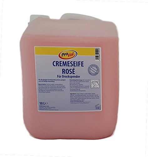 Handseife / Cremeseife rose, 10L Kanister, für den preisbewussten Anwender (Flüssige Seife Und Lotion)
