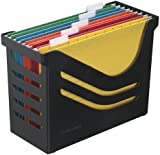 Jalema Atlanta Res Recycled Office Box Complete with 5 File - Black