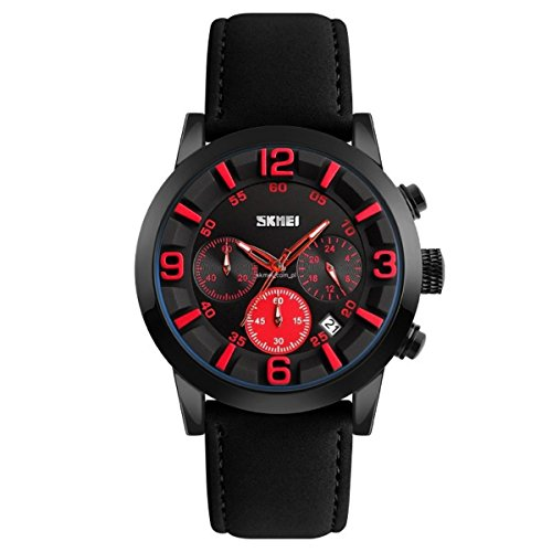 Skmei 9147RED Sports Analog Watch For Unisex