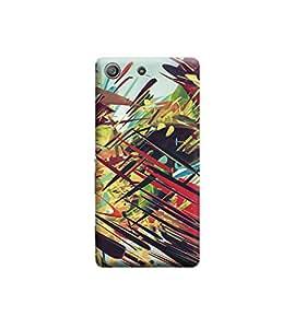 Ebby Premium 3d Desinger Printed Back Case Cover For Sony Xperia M5 (Premium Desinger Case)