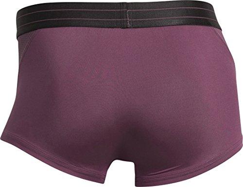 CR7 CRISTIANO RONALDO Herren Enganliegende Boxershorts Fashion Trunk Mesh Violett