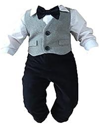 Amazon.fr   3 mois - Costumes de baptême   Bébé garçon 0-24m   Vêtements f7c5701bdcf