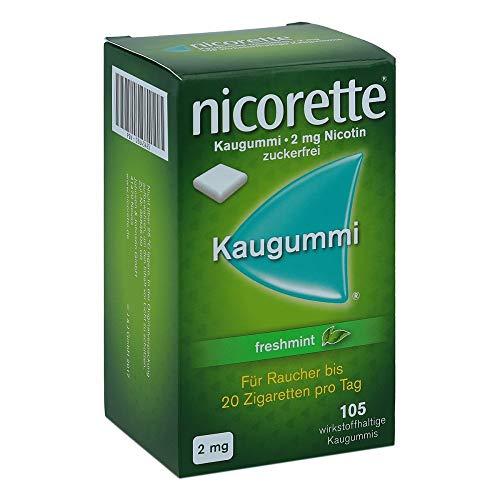 Nicorette 2mg freshmint 105 stk