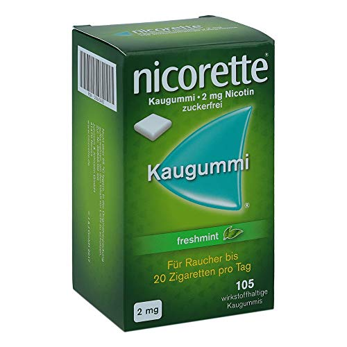 Nicorette 2mg freshmint 105 stk - 2 Mg Pillen