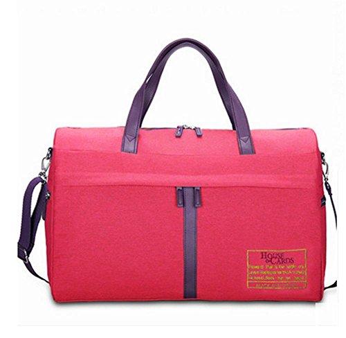 BUSL Grande capacità borsa bagaglio a mano sacchetto di spalla portatile di idrorepellente . c c