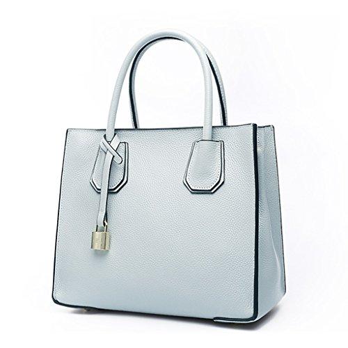 Zcjb Borsa A Tracolla Messenger Bag Ladies Bag Borse A Tracolla (colore: Grigio) Azzurro